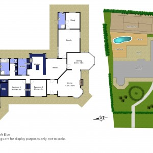 Floor plan for 7 Brulu Close, Mount Eliza