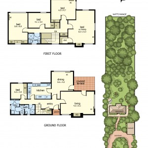 Floor Plan - 3 Bay avenue mt eliza