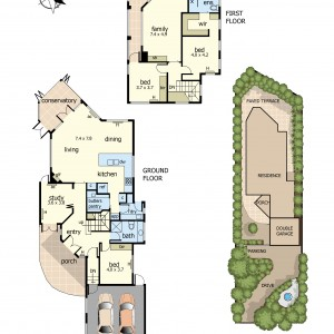Floor Plan 38D Violet Street
