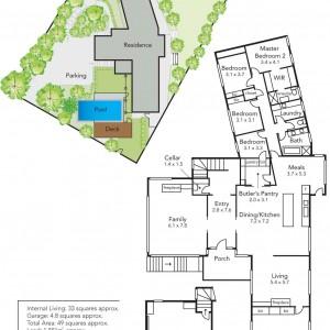 7 Brian Court Mt Eliza floor plan