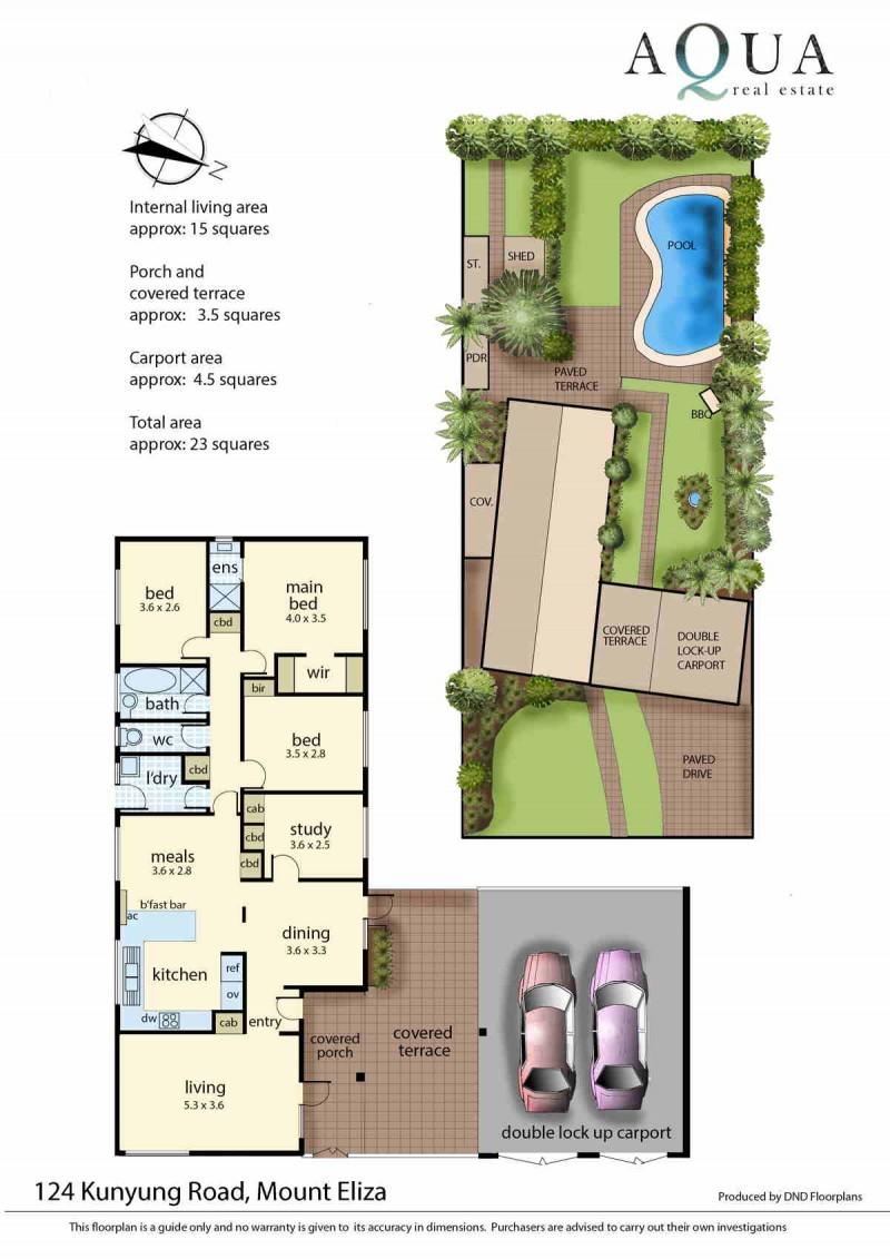 124 Kunyung rd Mt Eliza floorplan