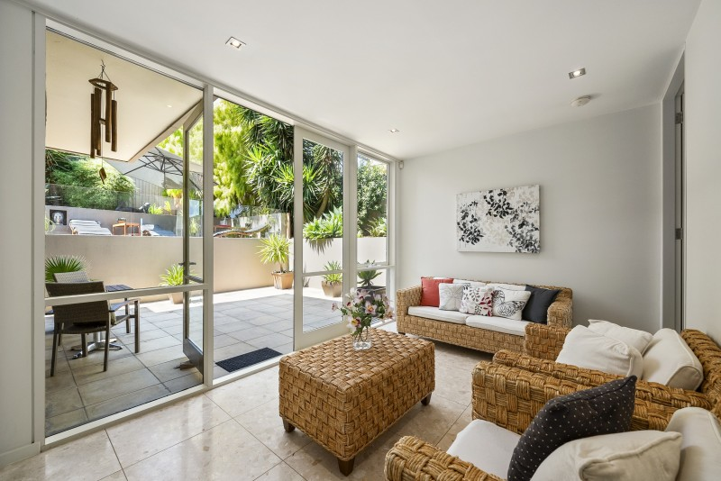 lounge room and patio