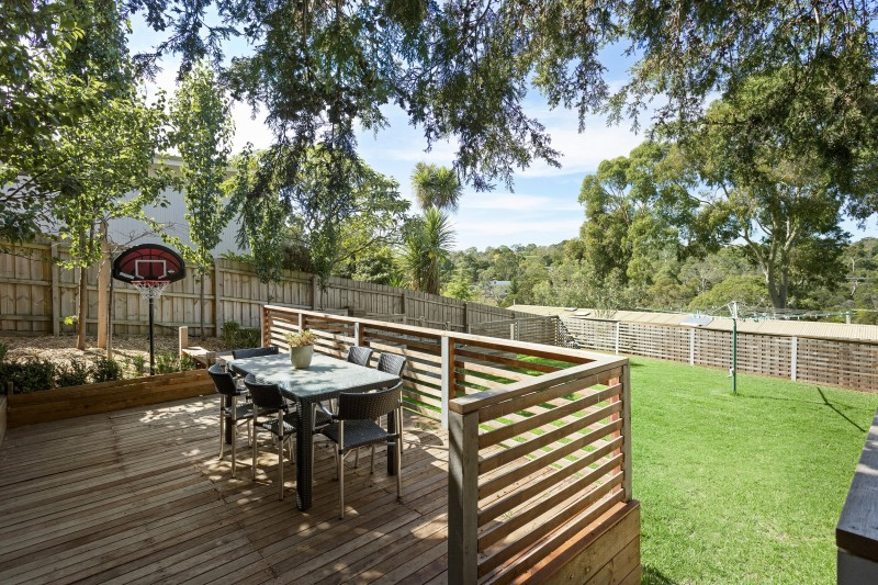 backyard with veranda