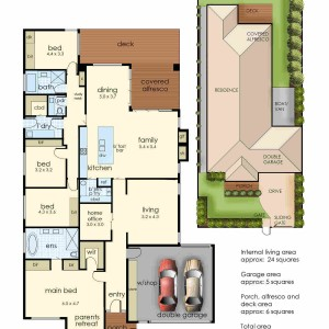 52 Rutland Avenue Mt Eliza floorplan