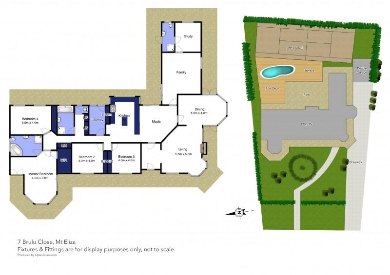 Floor plan for 7 Brulu Close, Mount Eliza