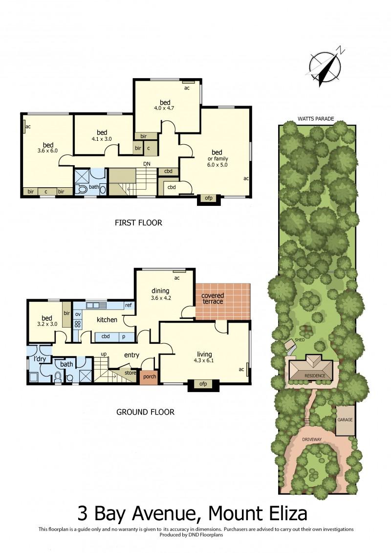 Floor Plan - 3 Bay avenue mt eliza