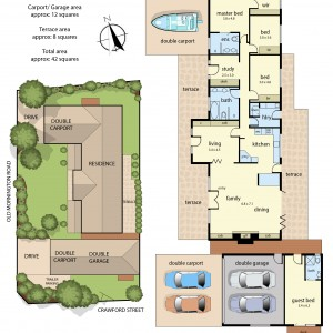 Floor Plan 74 Old Mornington Road