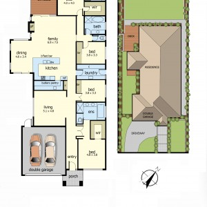 Floor Plan - 12 Cambourne ave mt eliza