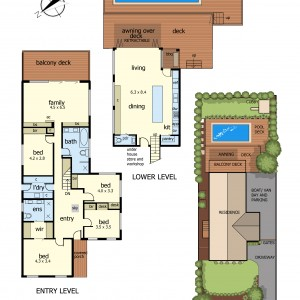 Floor Plan 16Bonnyview rd mt eliza