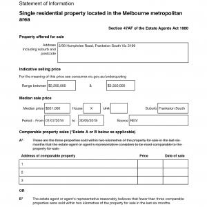 property statement