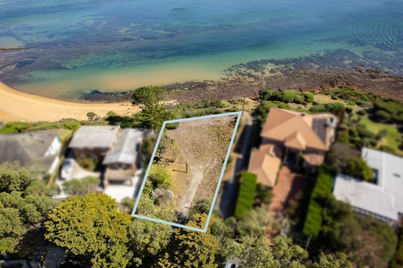 plot of land next to beach