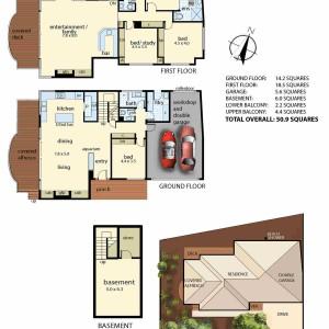 2/12 Kunyung rd Mt Eliza floorplan