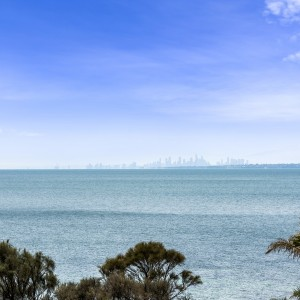 view over port phillip bay
