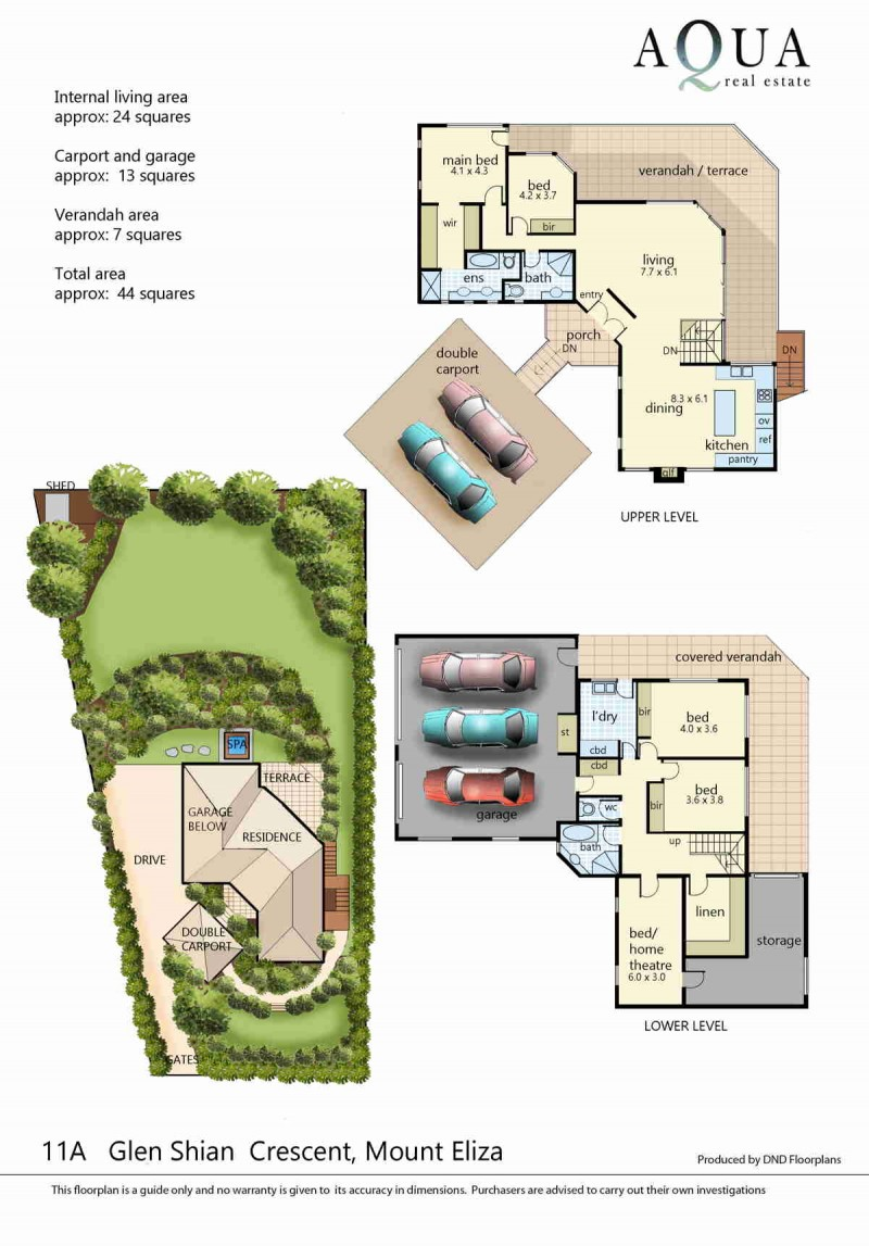 11A Glen Shian Cres Mt Eliza floorplan