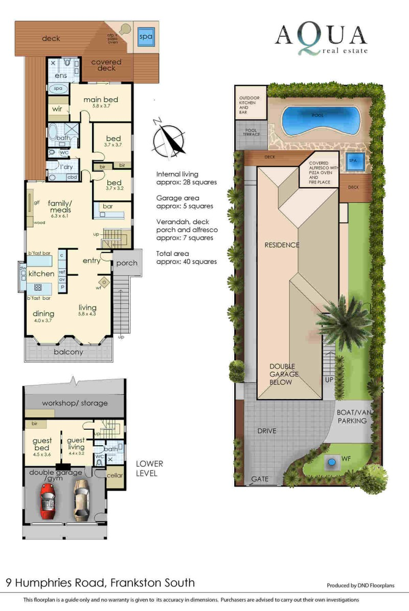 9 Humphries rd frankston south floorplan