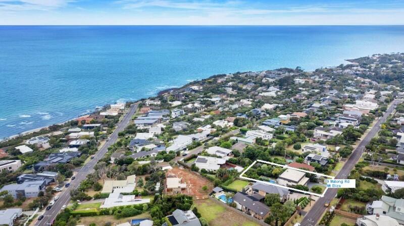 ( Matong Road Mt Eliza Aerial View